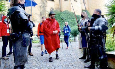 Der Löwenmarsch mit Prinz Ludwig von Bayern