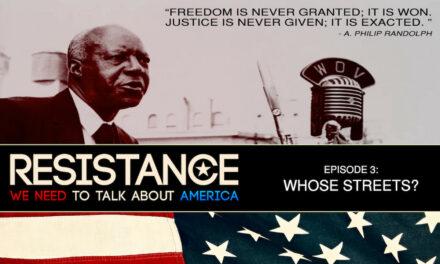 Aktuell zu den US-Wahlen: RESISTANCE Folge 3 von Blake Lewis