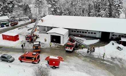 Großeinsatz am Seeshaupter Bauhof