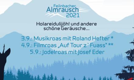 """Auf geht's am Wochenende zum """"Almrausch"""" nach Bad Feilnbach!"""